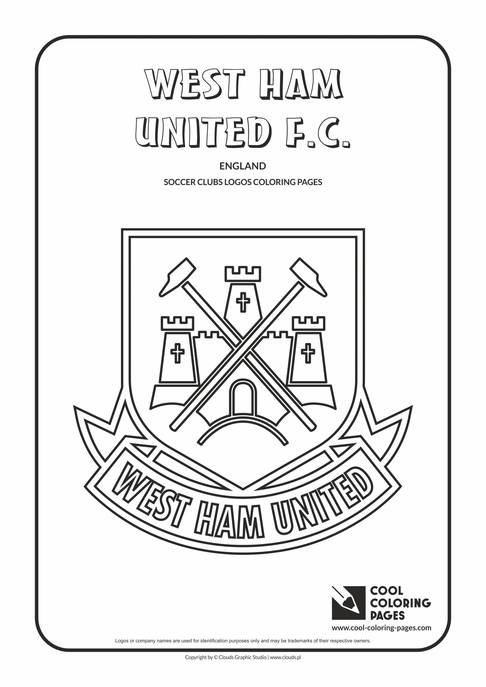 1654x2339 Cool Coloring Pages Soccer Clubs Logos
