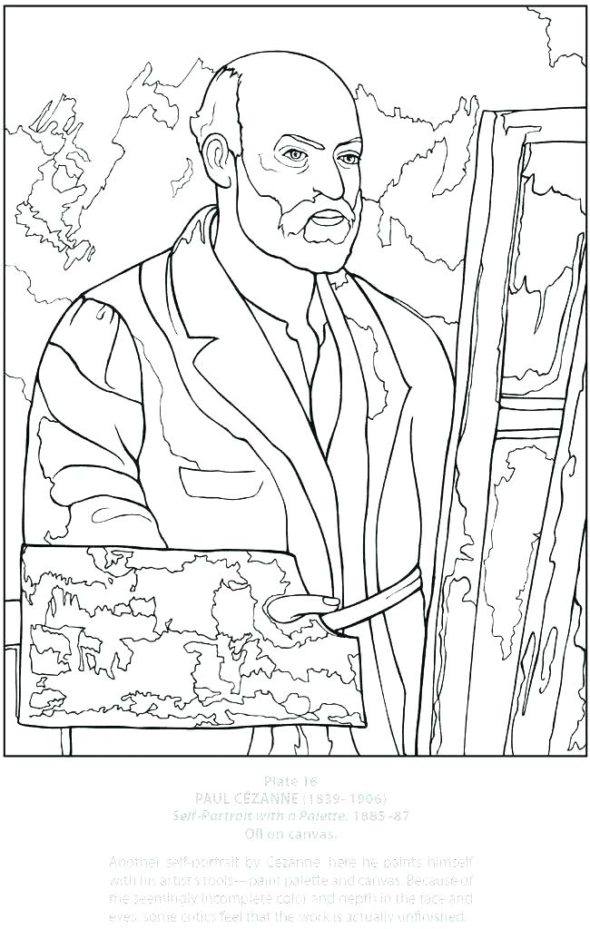 650x1024 Self Portrait Coloring Page Van Coloring Pages Inspirational Van