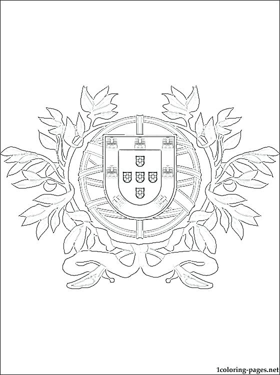 560x750 Portugal Flag Coloring Page Flag Jigsaw Portugal Flag Coloring