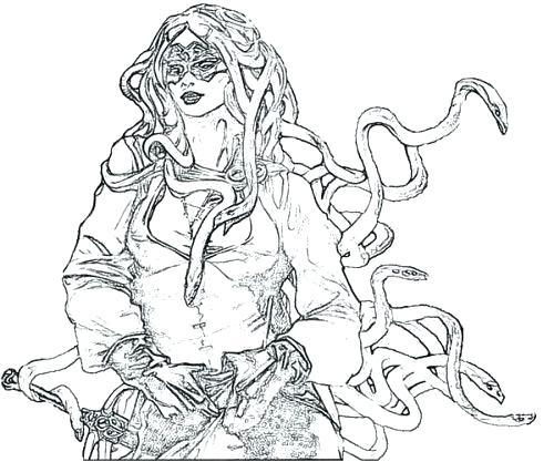 500x417 Poseidon Coloring Pages Mythology Coloring Pages Mythology