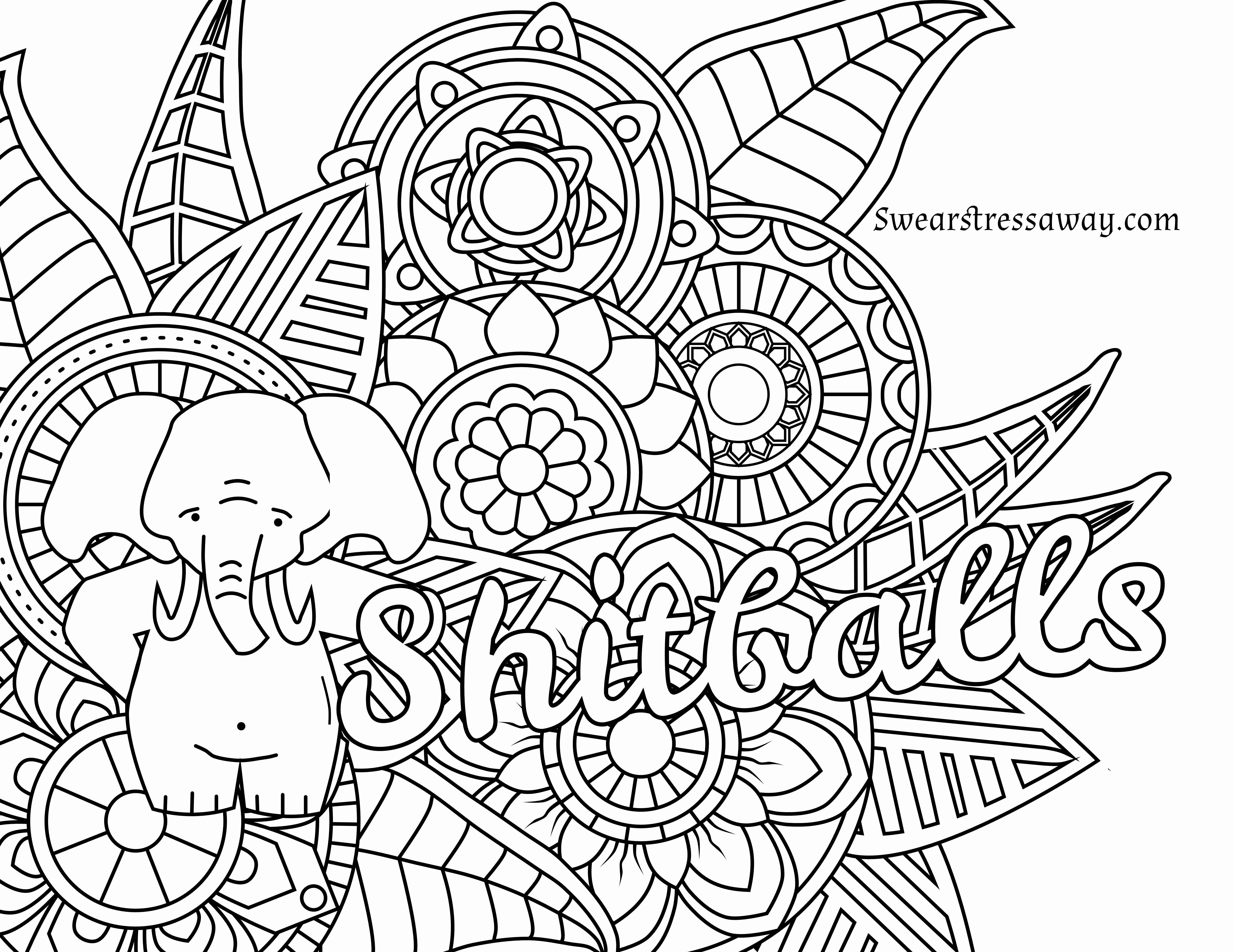6900x5328 Word Coloring Pages Beautiful Adult Humor F Postcards Adult