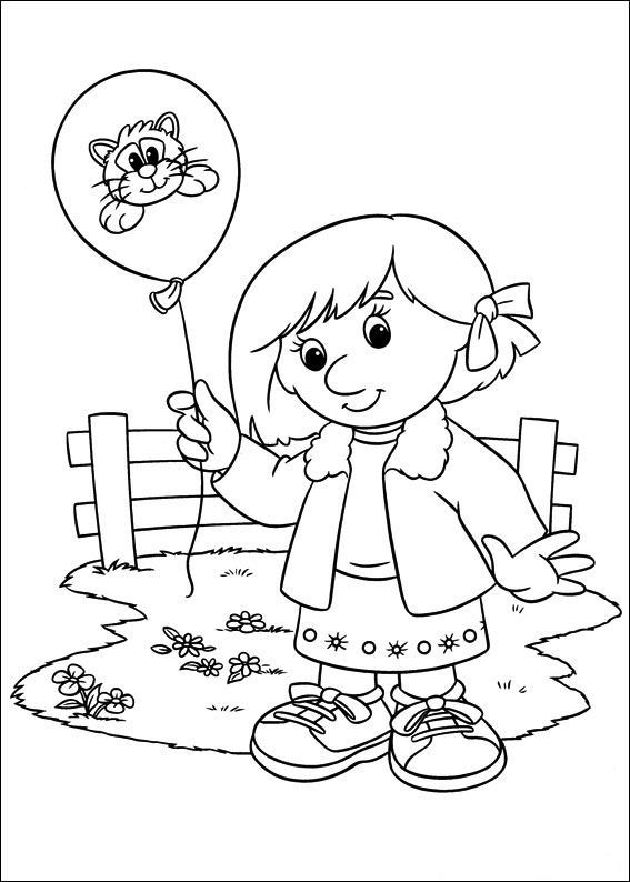Postman Coloring Pages
