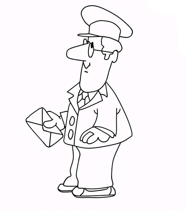 600x675 Picture Of Postman Pat Coloring Pages Bulk Color
