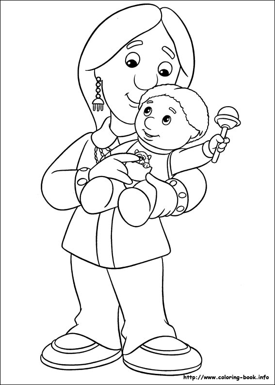 567x794 Postman Pat Coloring Pages On Coloring