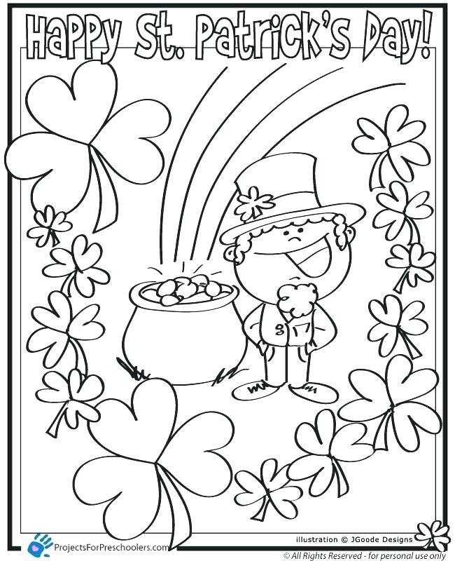 650x800 Gold Coloring Pages St Day Coloring Pages Free St Day Leprechaun