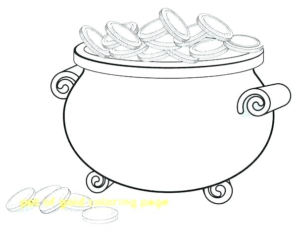 600x464 Pot Of Gold Coloring Page Printable Gold Coloring Pages Tarantula