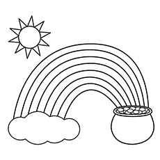 230x230 Cloud Coloring Pages