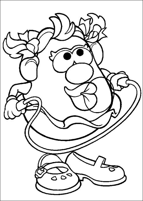 Potato Coloring Page At Getdrawings Com Free For Personal Use