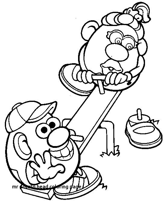 554x668 Page Minimalist Coloring Pages Vitlt For Mr Potato Head