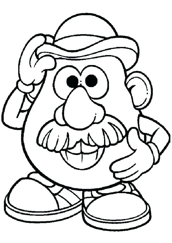 600x848 Goldilocks Coloring Page Coloring Pages Head Coloring Page Potato