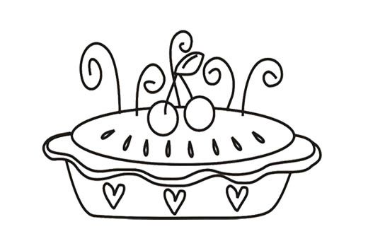 Pots And Pans Coloring Pages