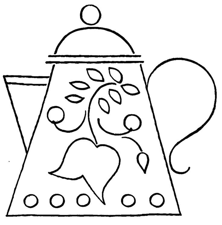 Coloring Pages Baby Kitchen Toys - Drawing Pot , Pan , Egg ...   749x736