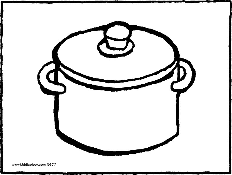 Pan clipart coloring page, Pan coloring page Transparent FREE for ...   602x800