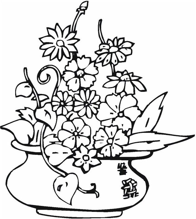 Pottery Coloring Pages