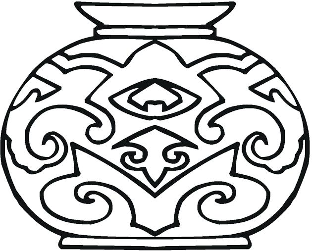 630x507 Pottery Coloring Pages