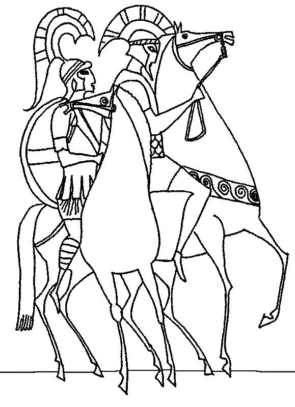 579x800 Ancient Greece Coloring Pages Ancient Greek Pottery Coloring Pages