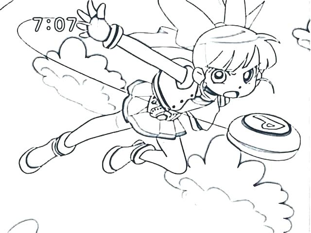 640x480 Powerpuff Girls Coloring Pages Free Girl Coloring Pages Coloring
