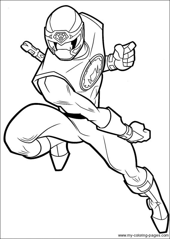 567x794 Get The Power Power Rangers Coloring Pages Print Color Craft