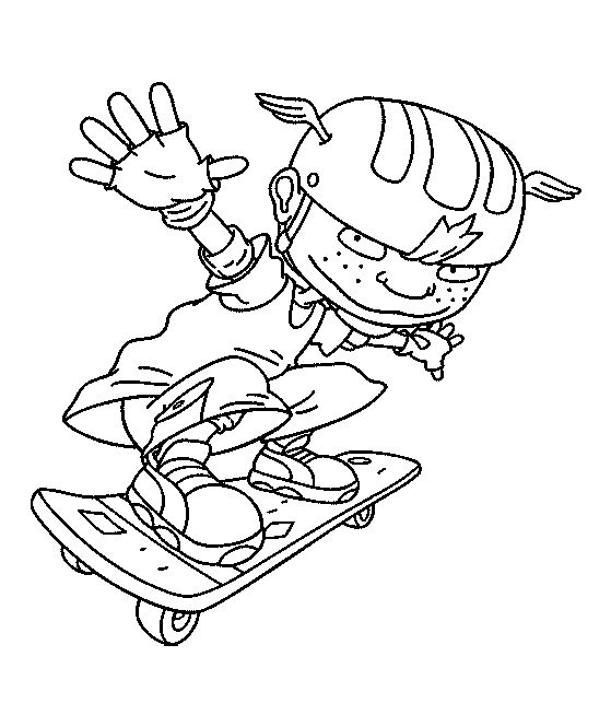 559x654 Impressive Rocket Power Coloring Page Pages