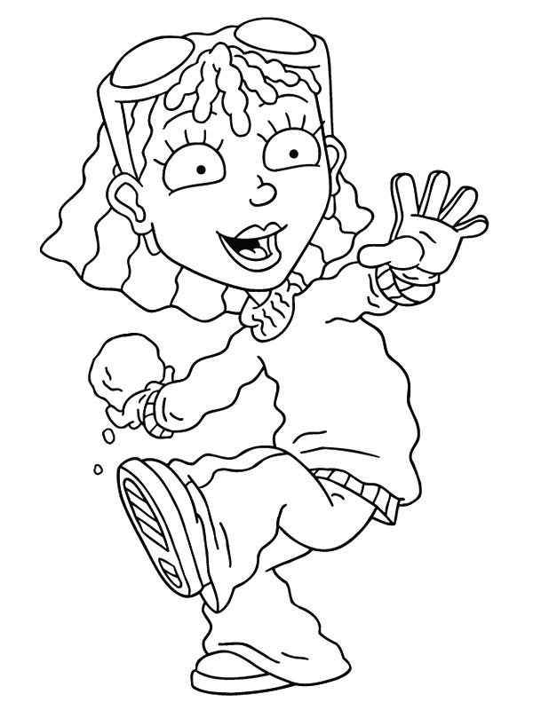 600x800 Kids N Coloring Pages Of Rocket Power