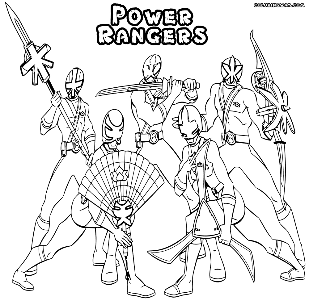 1000x988 Power Ranger Coloring Pages Fun Time