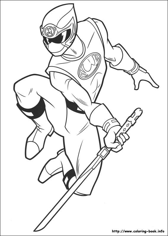567x794 Power Rangers Power Ranger Coloring Pages