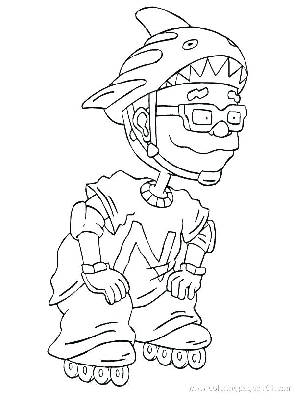 600x800 Rocket Power Coloring Pages Coloring Pages For Adults Quotes