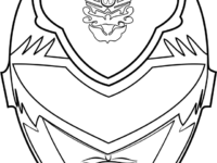 200x150 Power Rangers Mask Coloring Pages Lovely Power Rangers Dino Charge