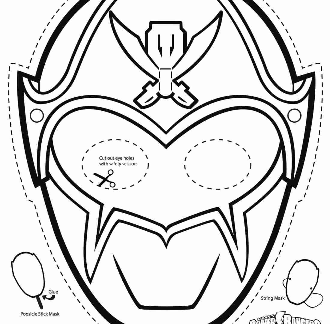 It's just an image of Power Ranger Mask Printable inside superhero mask