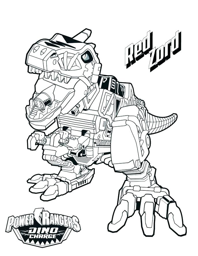 687x890 Red Power Ranger Coloring Page Red Power Rangers Coloring Pages