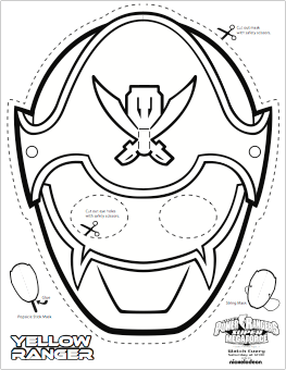 263x340 Super Mega Power Rangers Printable