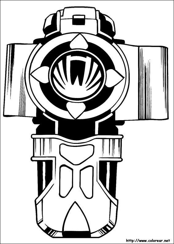 567x794 Dibujos De Power Rangers Para Colorear En