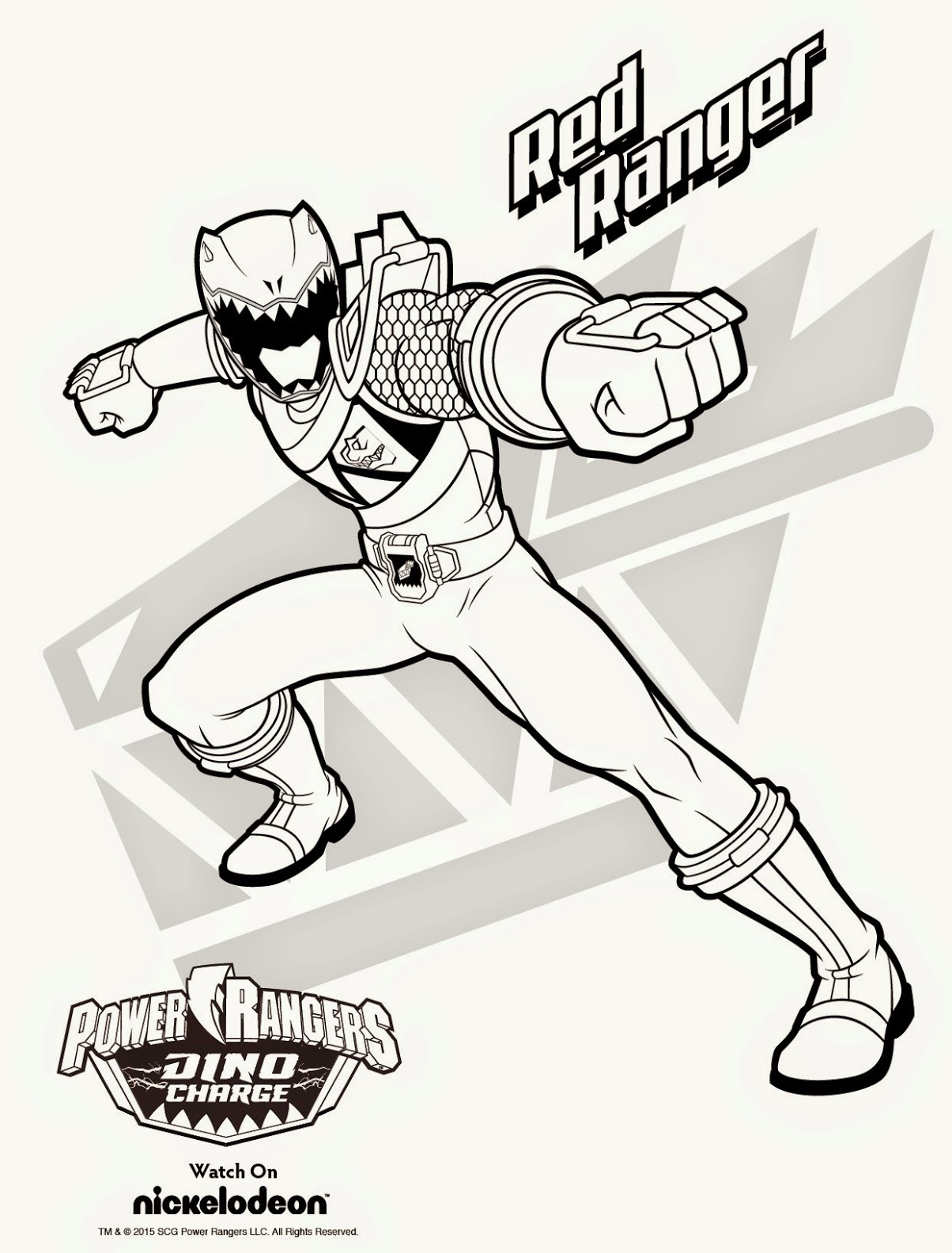 1204x1584 New Power Rangers Lost Galaxy Coloring Pages Elegant Mighty