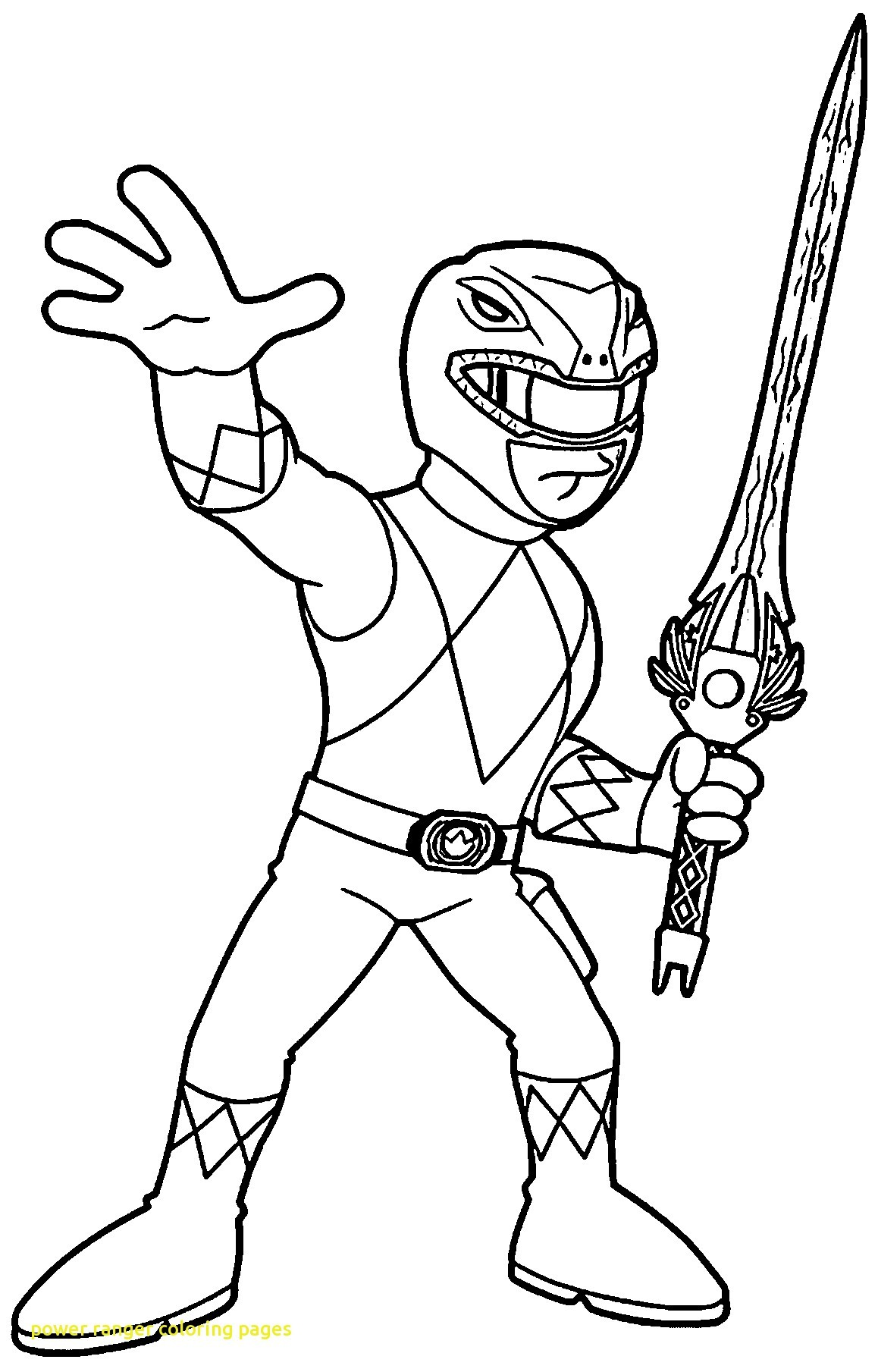 1158x1809 Power Ranger Coloring Page Fresh Best Free Rangers Cartoon
