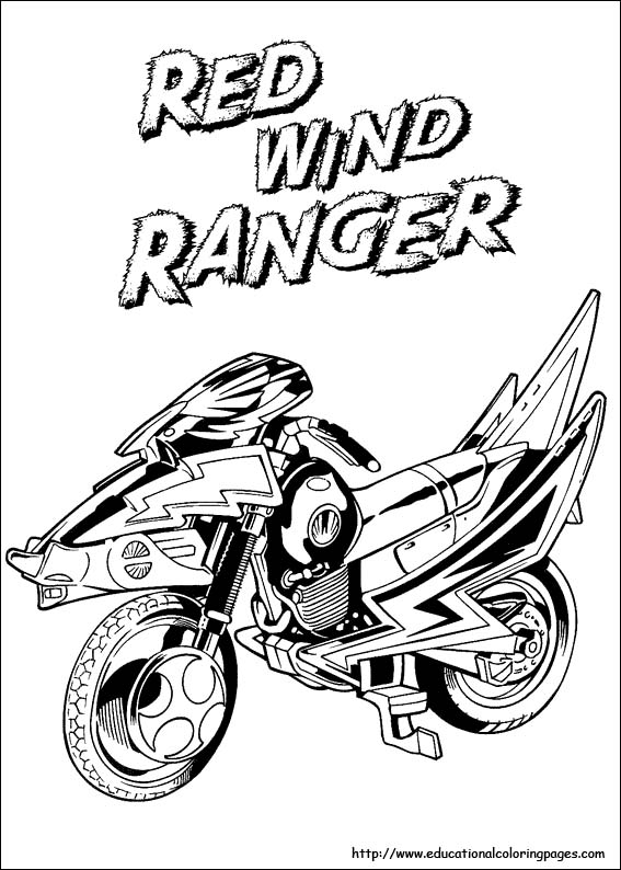 567x794 Power Rangers Coloring Pages Free For Kids