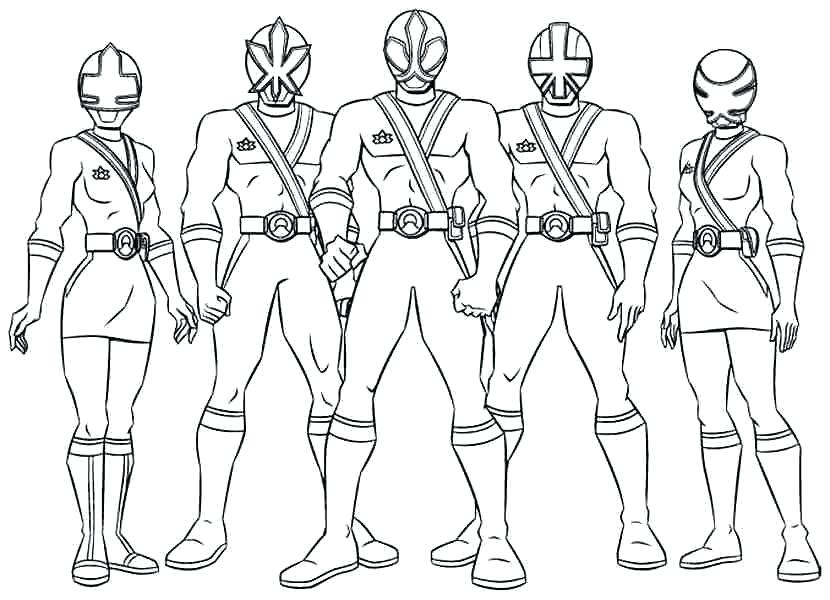 830x600 Power Rangers Hojas Para Colorear Power Rangers Coloring Pages My