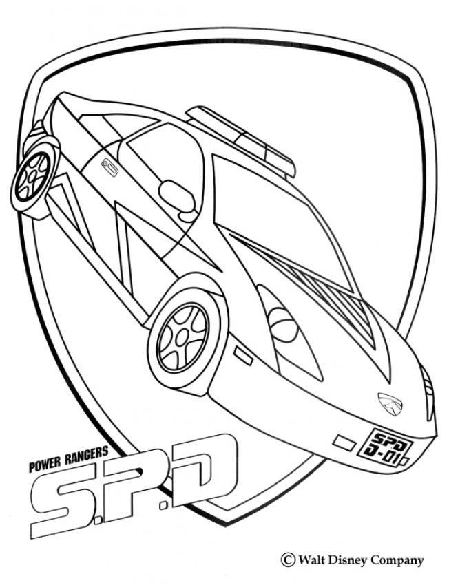 652x850 Power Rangers Spd Coloring Pages