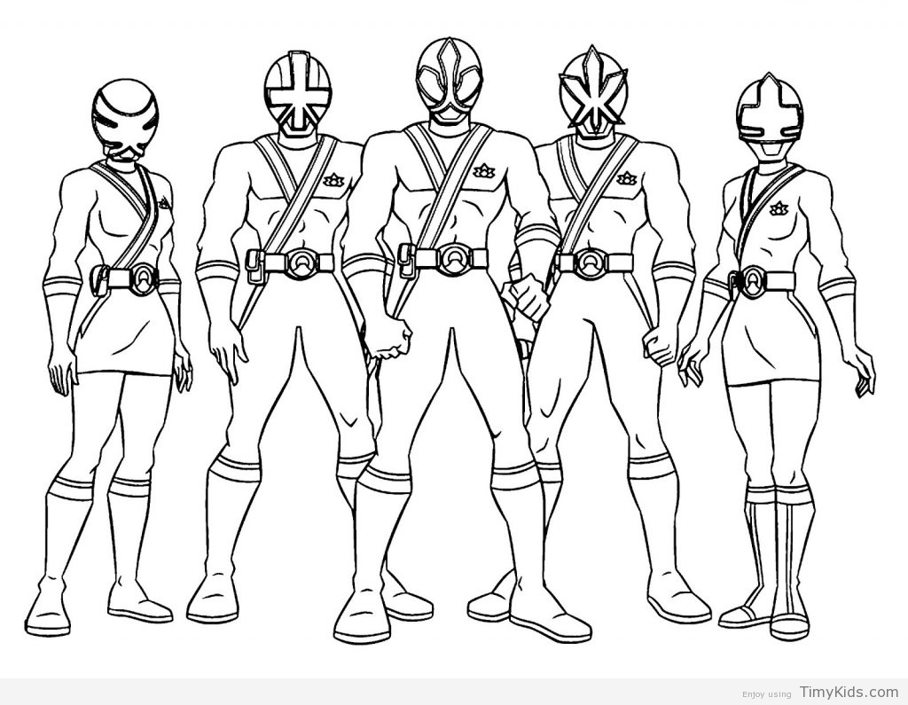 1024x795 Printable Power Rangers Coloring Pages Timykids