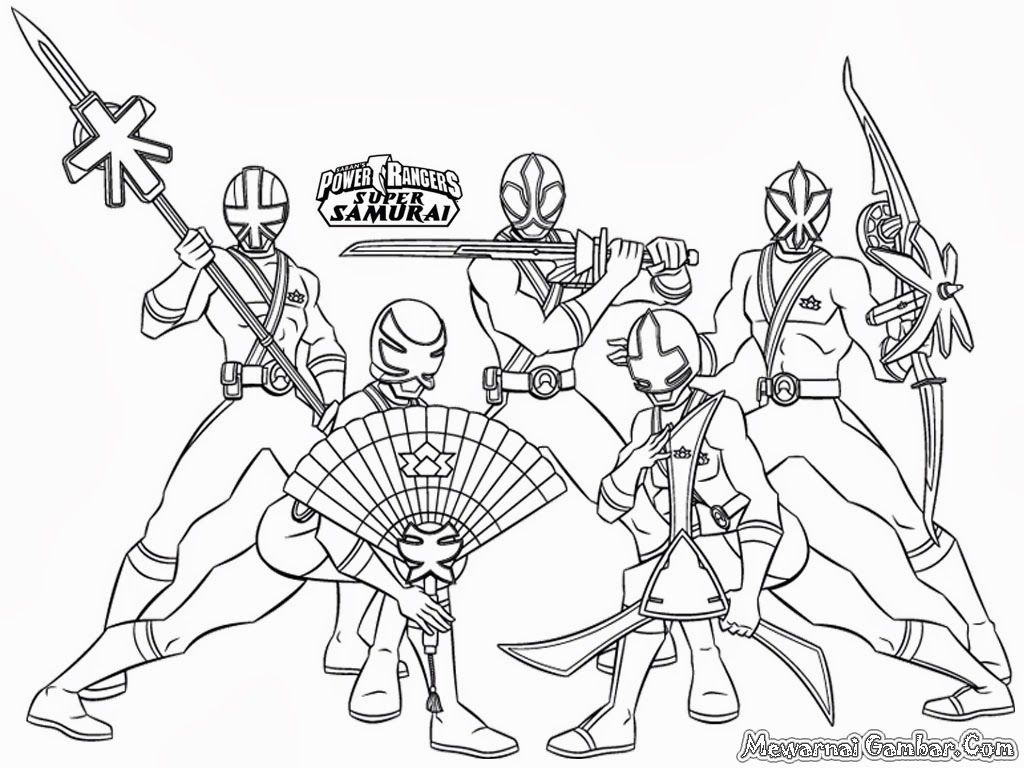 Power Rangers Coloring Pages At GetDrawings
