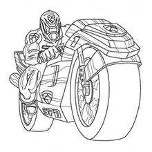 220x220 Martial Arts Power Ranger Coloring Pages