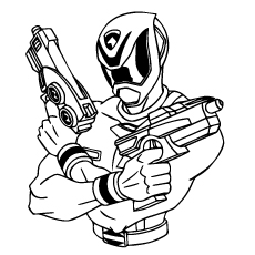 Power Rangers Coloring Pages Online At Getdrawings Com Free For