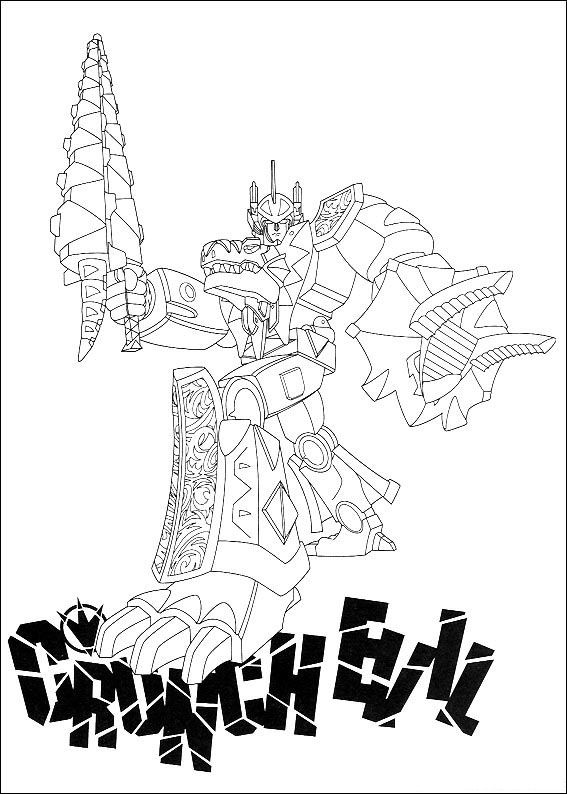 567x794 Dino Coloring Pages Power Rangers Dino Thunder White Ranger