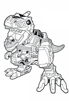 236x348 Coloring Sheets Power Rangers Dino Charge