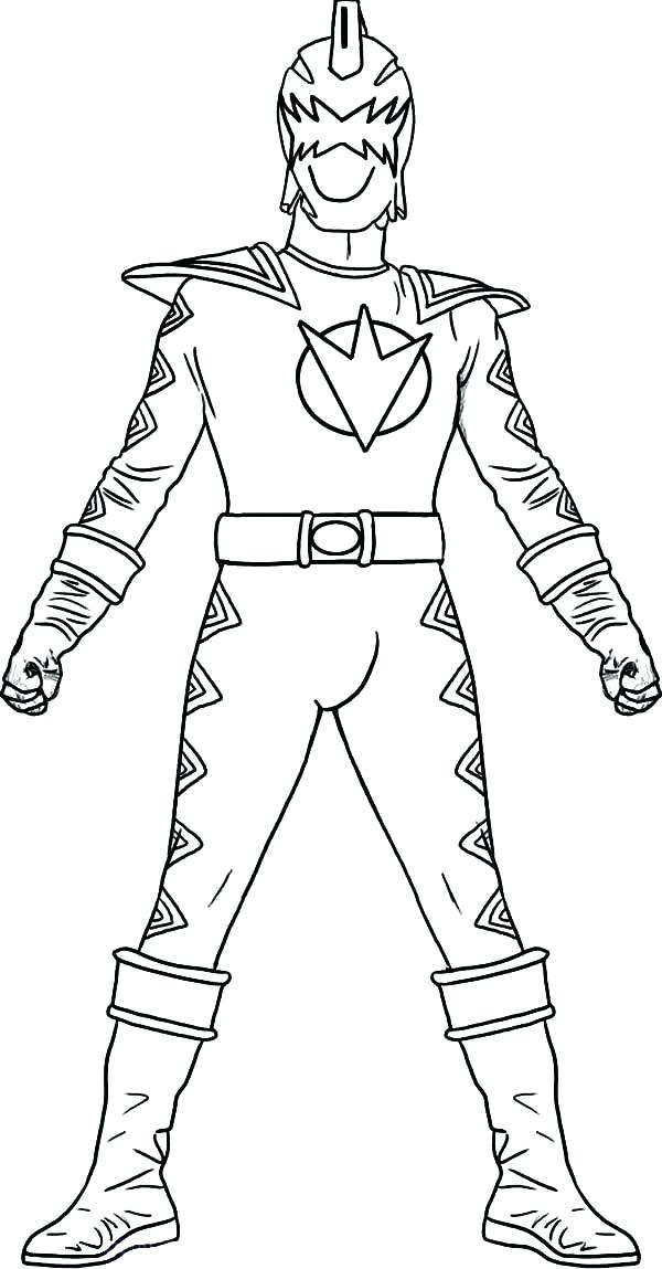 600x1149 Power Rangers Dino Charge Coloring Pages To Print