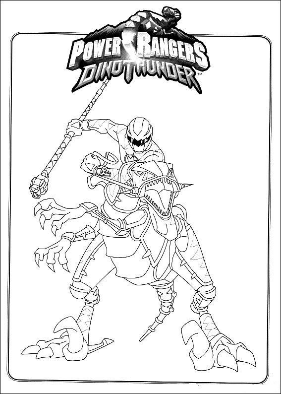 567x794 Power Rangers Coloring Pages Power Rangers Dino Thunder Coloring