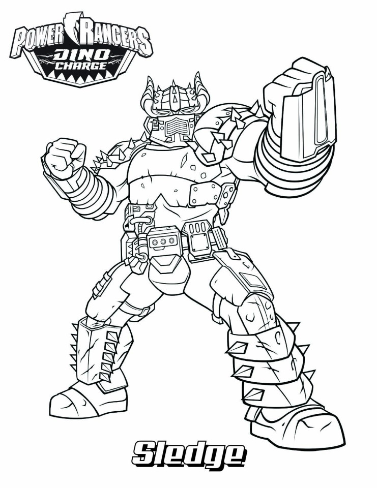 741x960 Coloring Sheets Power Rangers Dino Charge Get This Ranger Force