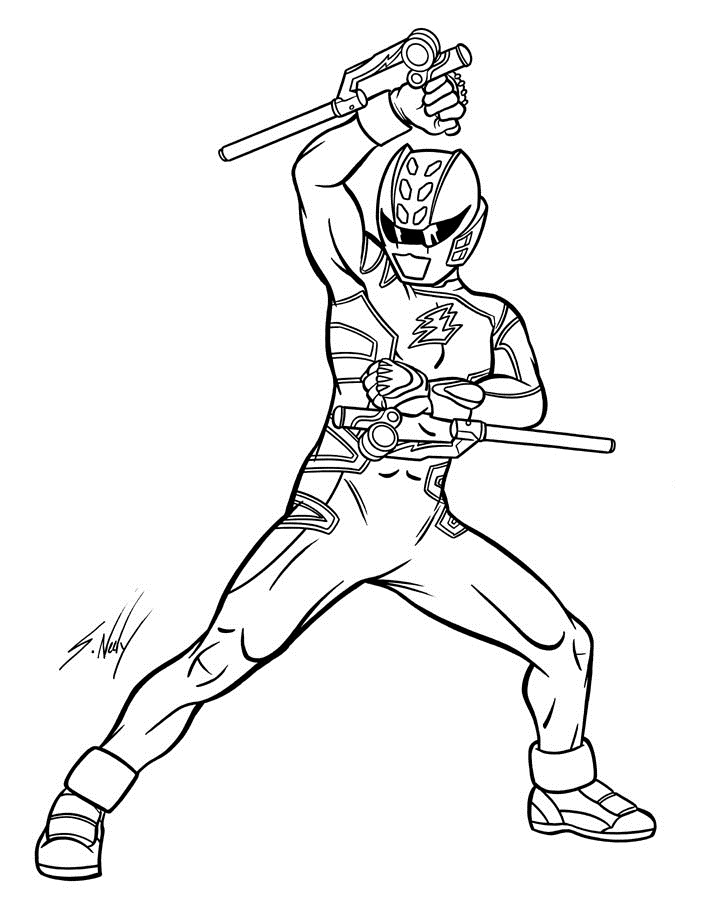 714x900 Free Printable Power Rangers Coloring Pages For Kids