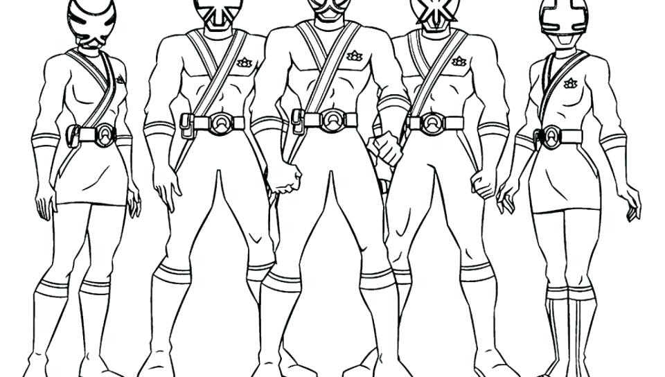 960x544 Power Rangers Jungle Fury Coloring Pages