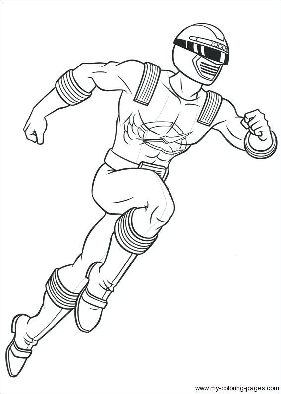 567x794 Colorear Power Ranger