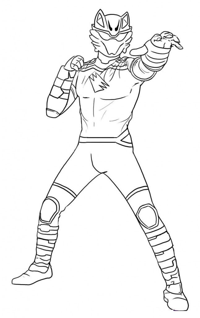 646x1024 Cool Power Rangers Dino Thunder Coloring Pages Art Ideas